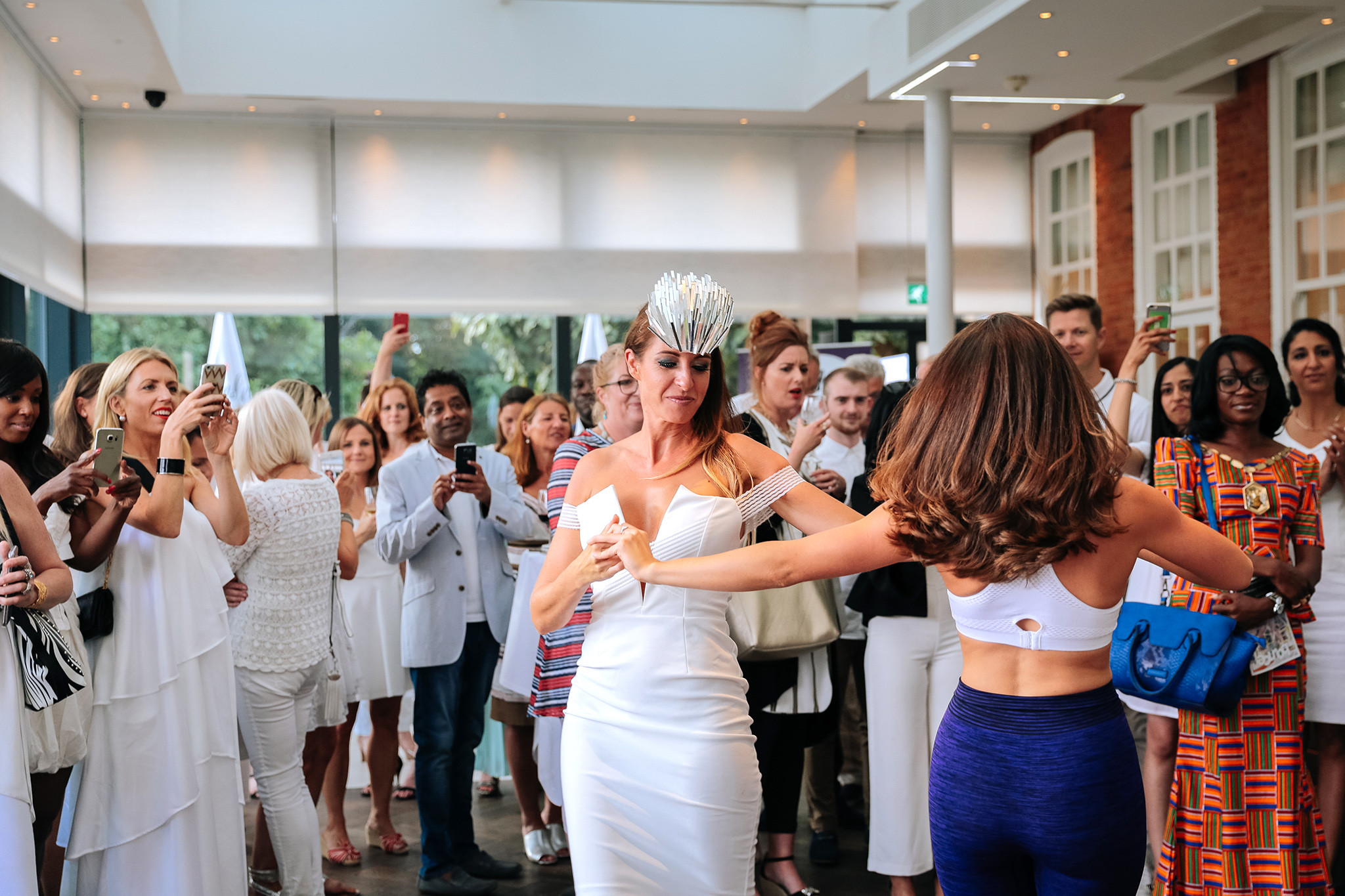 Eyes of Lady Wimbledon - Launch Party captured by Charlie Borgio