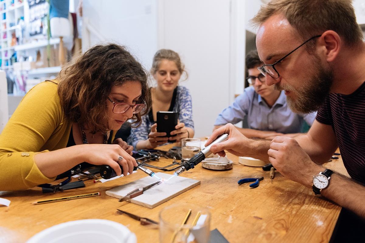 Jewellery Workshop captured by Daniel Morales/Splento