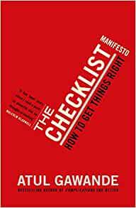Checklist Manfesto