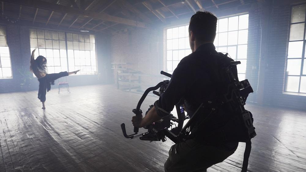 Filming a dancer - Video marketing experts