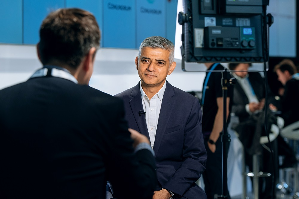 Interview with Sadiq Khan - Video marketing experts
