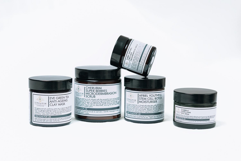 Pots of skincare product - Amazon eCommerce