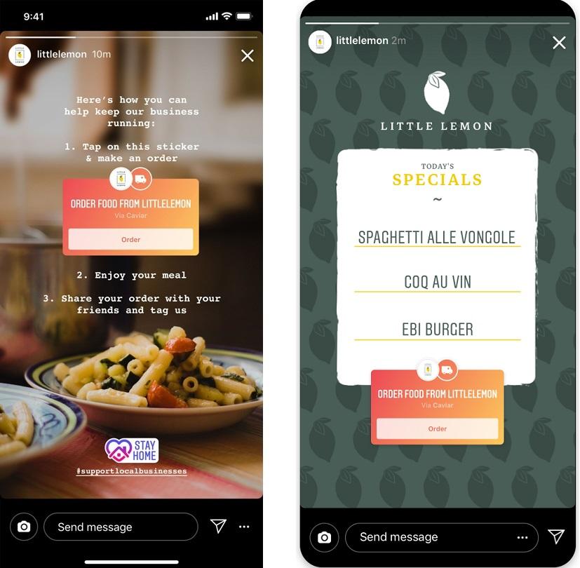 Screenshots - Instagram Food Stickers