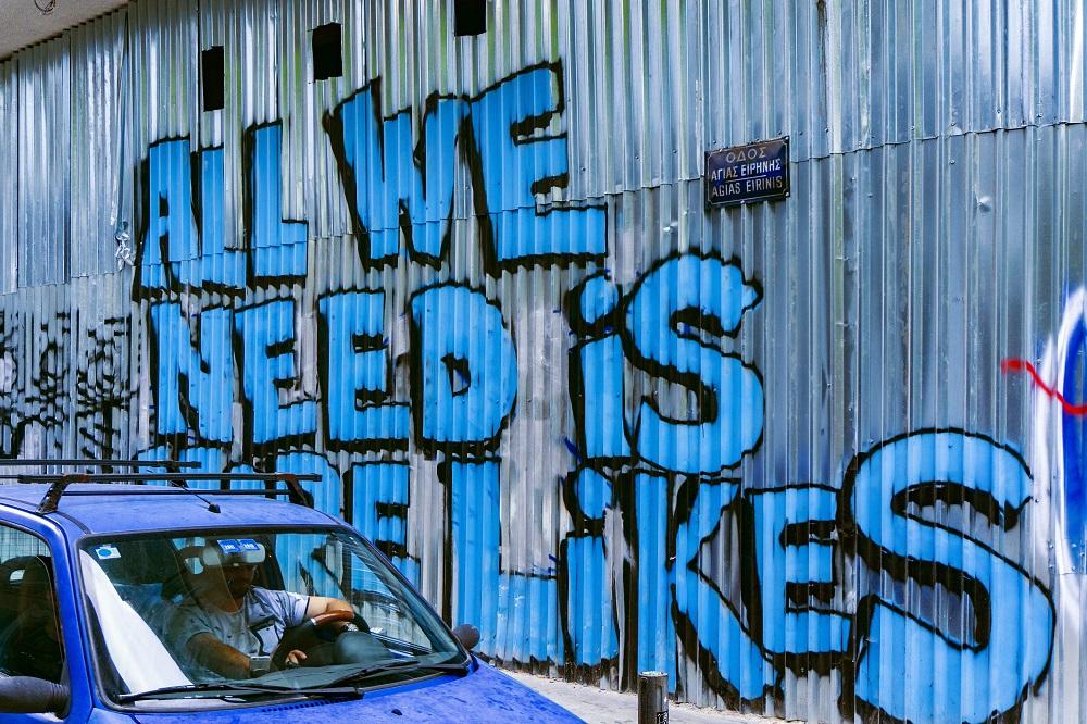 Social Media grafitti