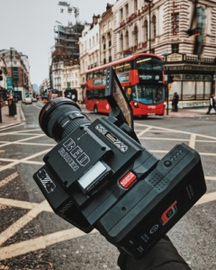 Video camera in London