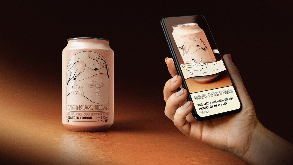 Far from home beer - Augmented Reality
