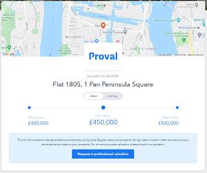 Online property marketing - Proval 1