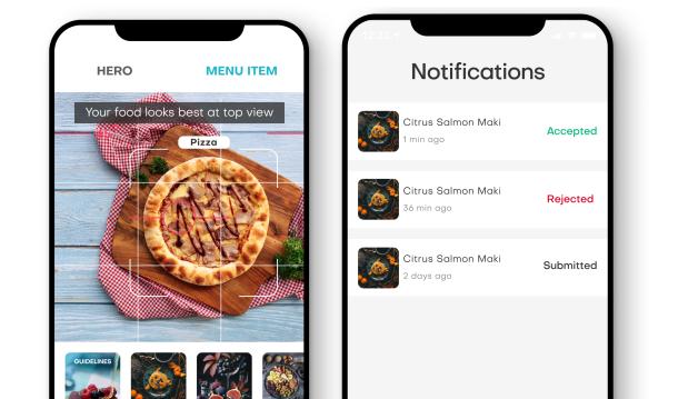 FoodApp Screens