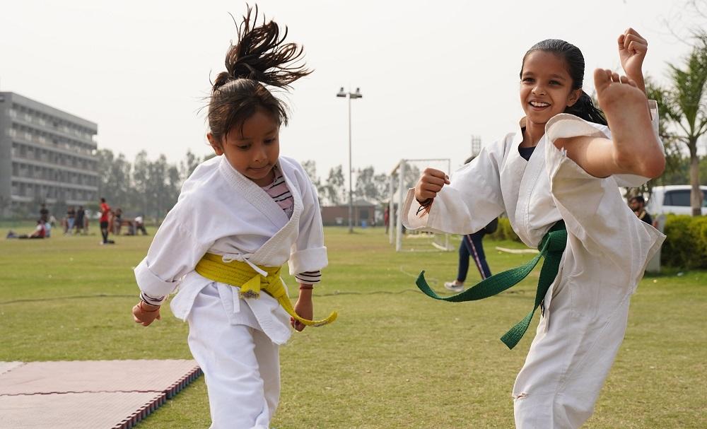 Developing children through sports