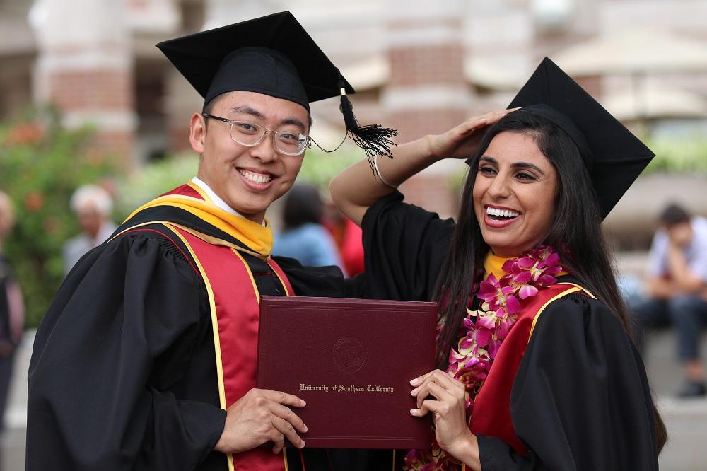 Graduation photo shots