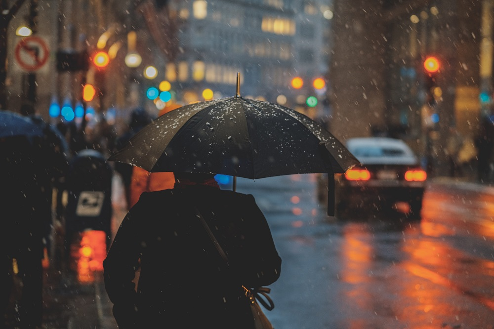 Art of rain photography