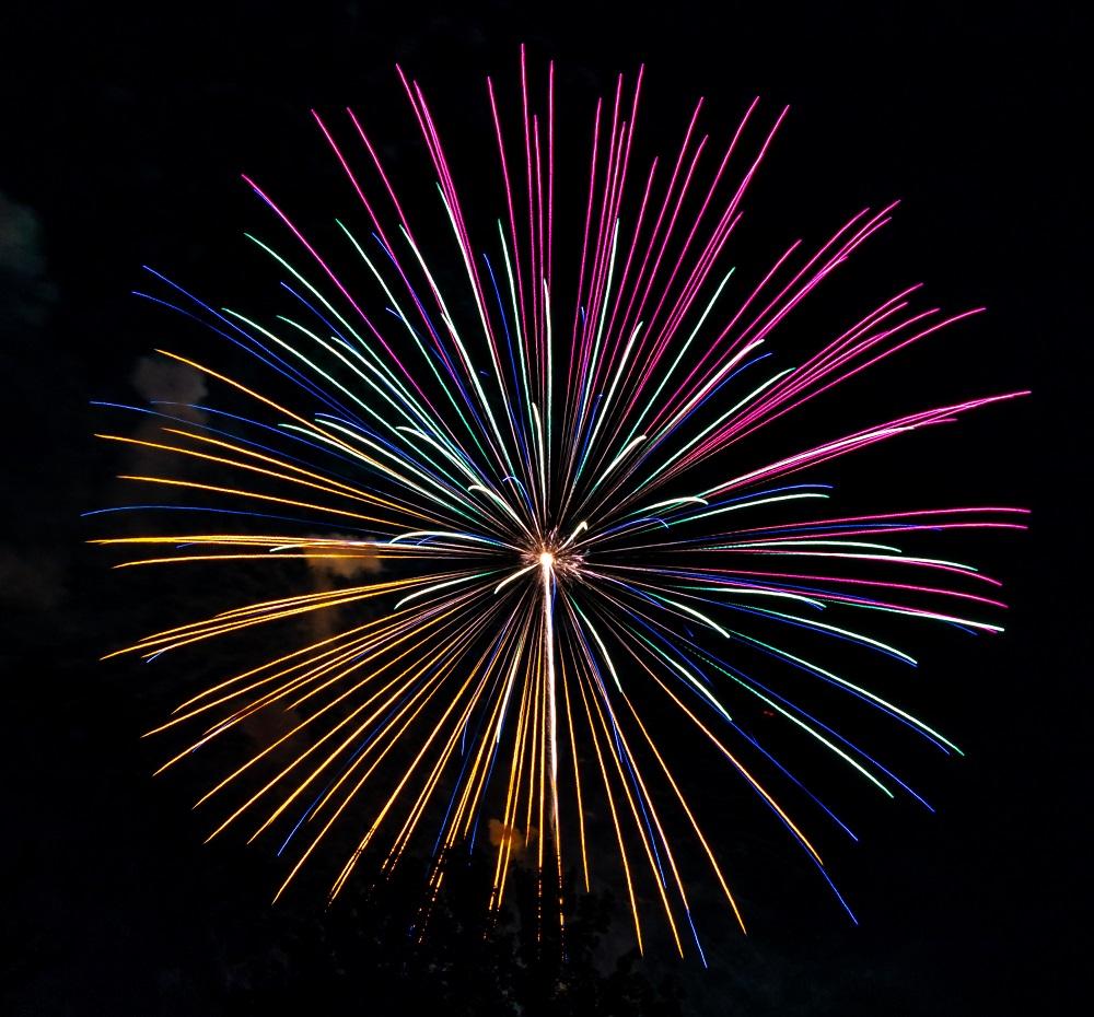 Impressive firework photos