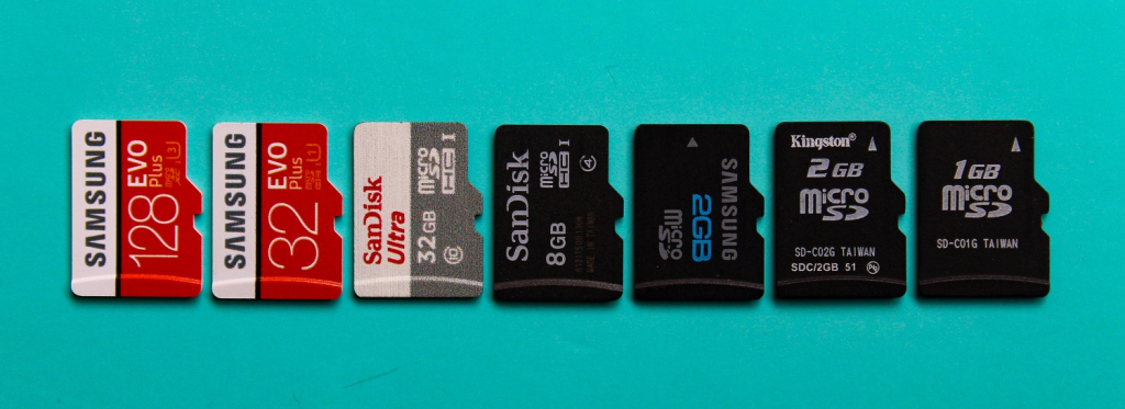 Shooting videos on memory cards